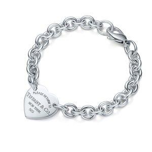 Tiffany RTT Heart Tag Bracelet